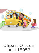 Royalty-Free (RF) School Children Clipart Illustration #1115953