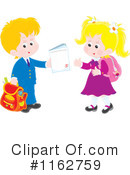Royalty-Free (RF) School Children Clipart Illustration #1162759