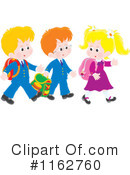 Royalty-Free (RF) School Children Clipart Illustration #1162760