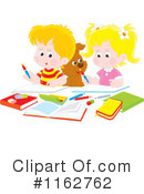 Royalty-Free (RF) School Children Clipart Illustration #1162762