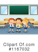 Royalty-Free (RF) School Children Clipart Illustration #1167032