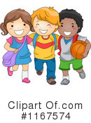 Royalty-Free (RF) School Children Clipart Illustration #1167574