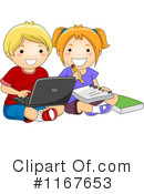 School Children Clipart #1167653 by BNP Design Studio
