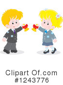 School Children Clipart #1243776 by Alex Bannykh