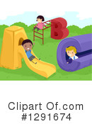 School Children Clipart #1291674 by BNP Design Studio