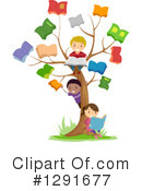 School Children Clipart #1291677 by BNP Design Studio
