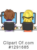 Royalty-Free (RF) School Children Clipart Illustration #1291685