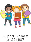 School Children Clipart #1291687 by BNP Design Studio