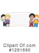 School Children Clipart #1291690 by BNP Design Studio