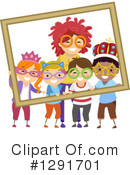 School Children Clipart #1291701 by BNP Design Studio
