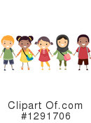 Royalty-Free (RF) School Children Clipart Illustration #1291706