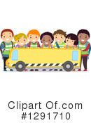 School Children Clipart #1291710 by BNP Design Studio