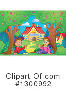 School Children Clipart #1300992 by visekart