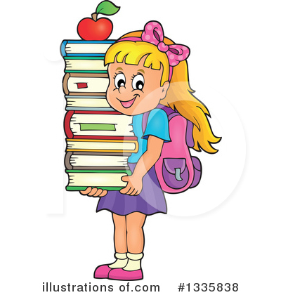 School Children Clipart #1335838 by visekart