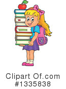 Royalty-Free (RF) School Children Clipart Illustration #1335838