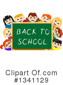 Royalty-Free (RF) School Children Clipart Illustration #1341129