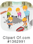 School Children Clipart #1362991 by BNP Design Studio
