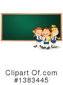 Royalty-Free (RF) School Children Clipart Illustration #1383445