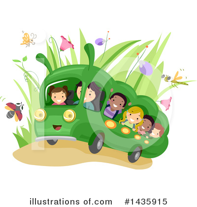 Bus Clipart #1435915 by BNP Design Studio