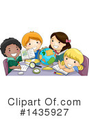 Royalty-Free (RF) School Children Clipart Illustration #1435927