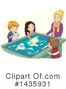 Royalty-Free (RF) School Children Clipart Illustration #1435931