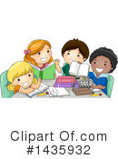 Royalty-Free (RF) School Children Clipart Illustration #1435932