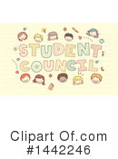 School Children Clipart #1442246 by BNP Design Studio