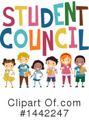 School Children Clipart #1442247 by BNP Design Studio