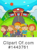 School Children Clipart #1443761 by Graphics RF