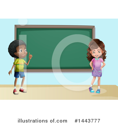Royalty-Free (RF) School Children Clipart Illustration by Graphics RF - Stock Sample #1443777