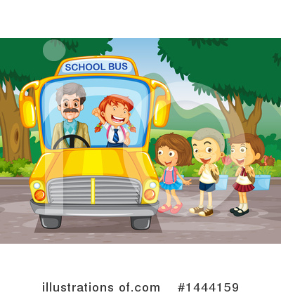 School Bus Clipart #1444159 by Graphics RF