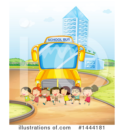 School Bus Clipart #1444181 by Graphics RF