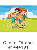Royalty-Free (RF) School Children Clipart Illustration #1444191