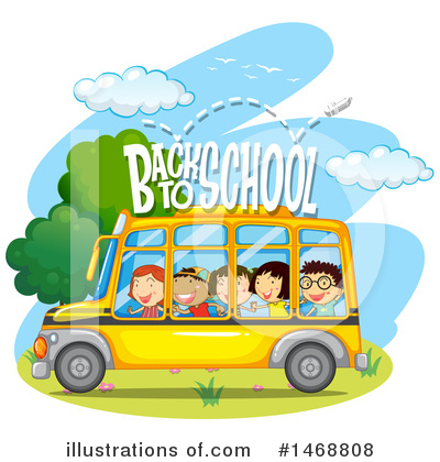 School Bus Clipart #1468808 by Graphics RF