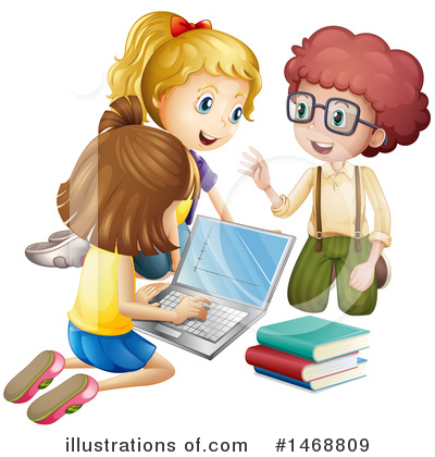 Laptop Clipart #1468809 by Graphics RF