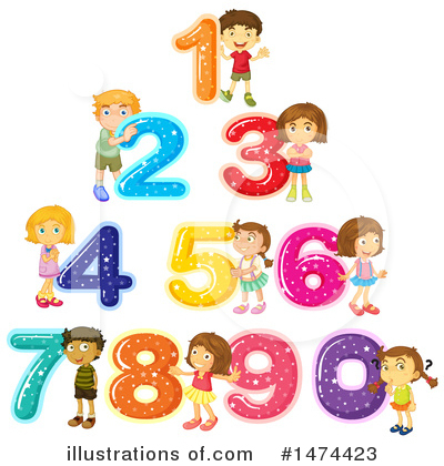 Number Clipart #1474423 by Graphics RF