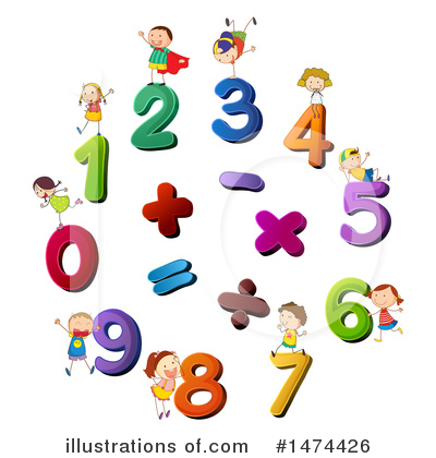 Number Clipart #1474426 by Graphics RF
