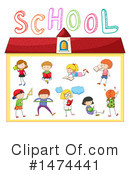 School Children Clipart #1474441 by Graphics RF