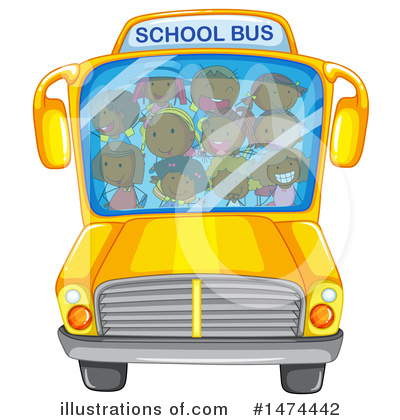 School Bus Clipart #1474442 by Graphics RF