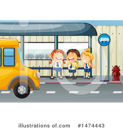 School Bus Clipart #1474443 by Graphics RF