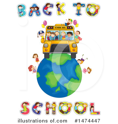 School Bus Clipart #1474447 by Graphics RF