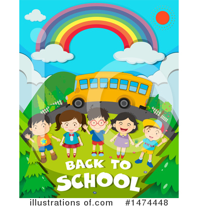 School Bus Clipart #1474448 by Graphics RF