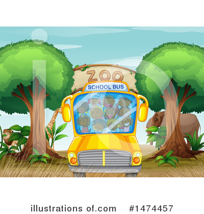 School Bus Clipart #1474457 by Graphics RF