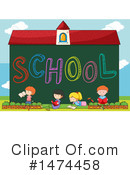 School Children Clipart #1474458 by Graphics RF