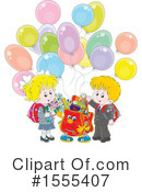 School Children Clipart #1555407 by Alex Bannykh