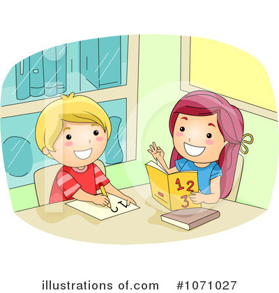 School Children Clipart #1071027 by BNP Design Studio