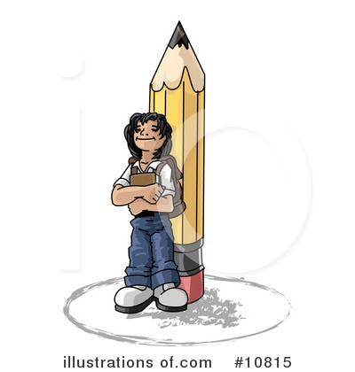 Royalty-Free (RF) School Clipart Illustration by Leo Blanchette - Stock Sample #10815