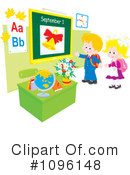School Clipart #1096148 by Alex Bannykh