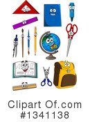 Royalty-Free (RF) School Clipart Illustration #1341138