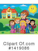Royalty-Free (RF) School Clipart Illustration #1419086
